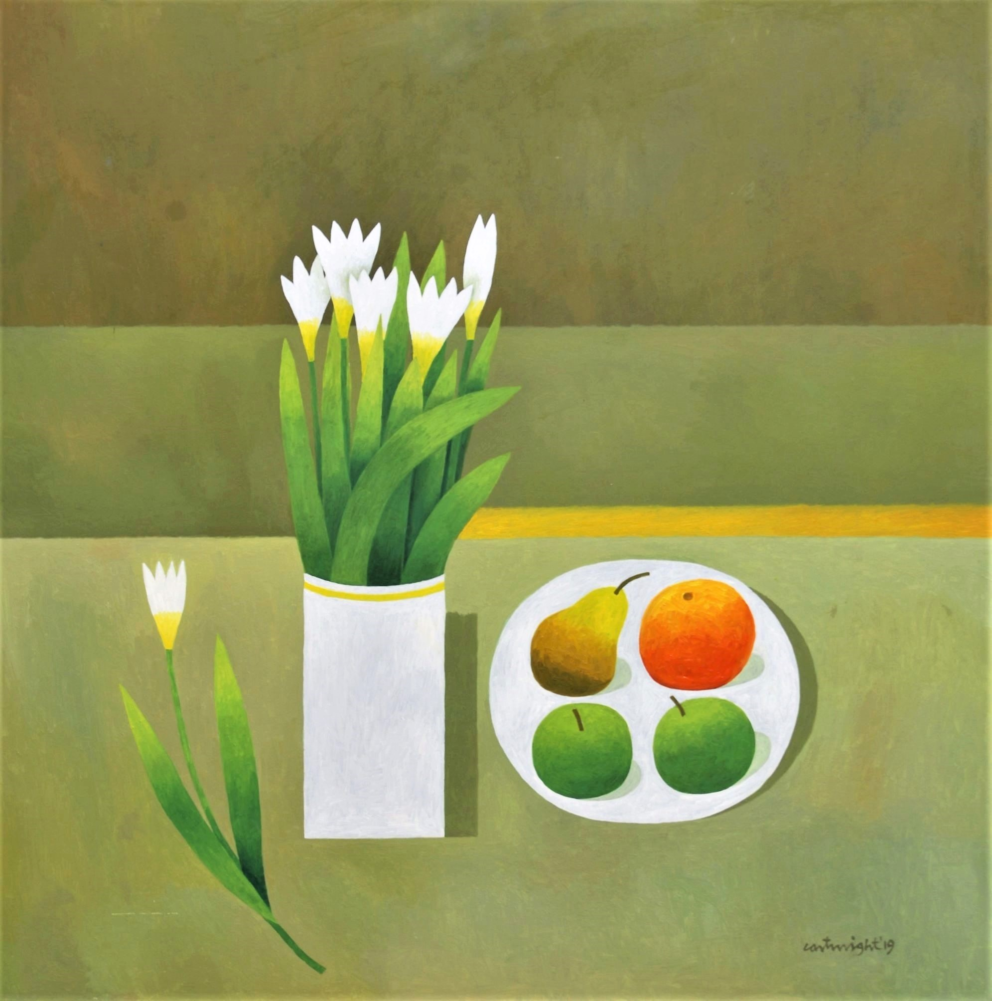 Painting by Reg Cartwright- Still Life